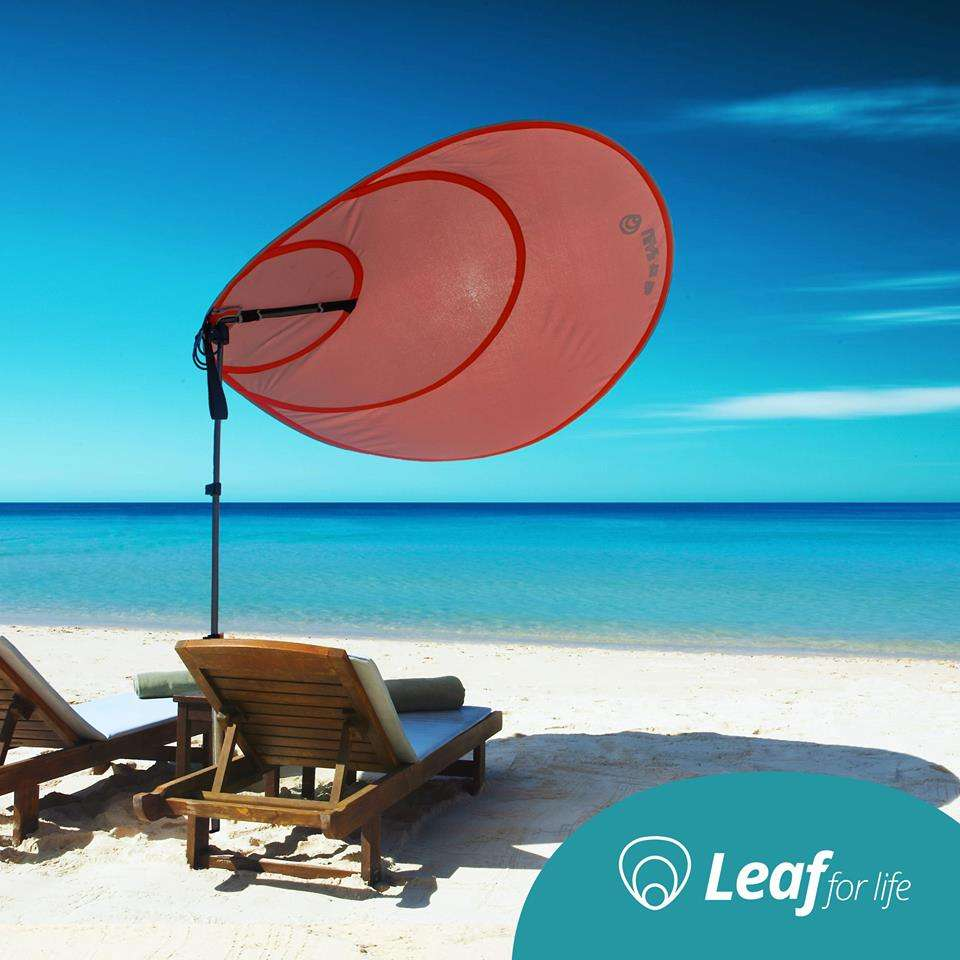 Conso Leaf For Life Le Parasol Du Futur Made In Occitanie