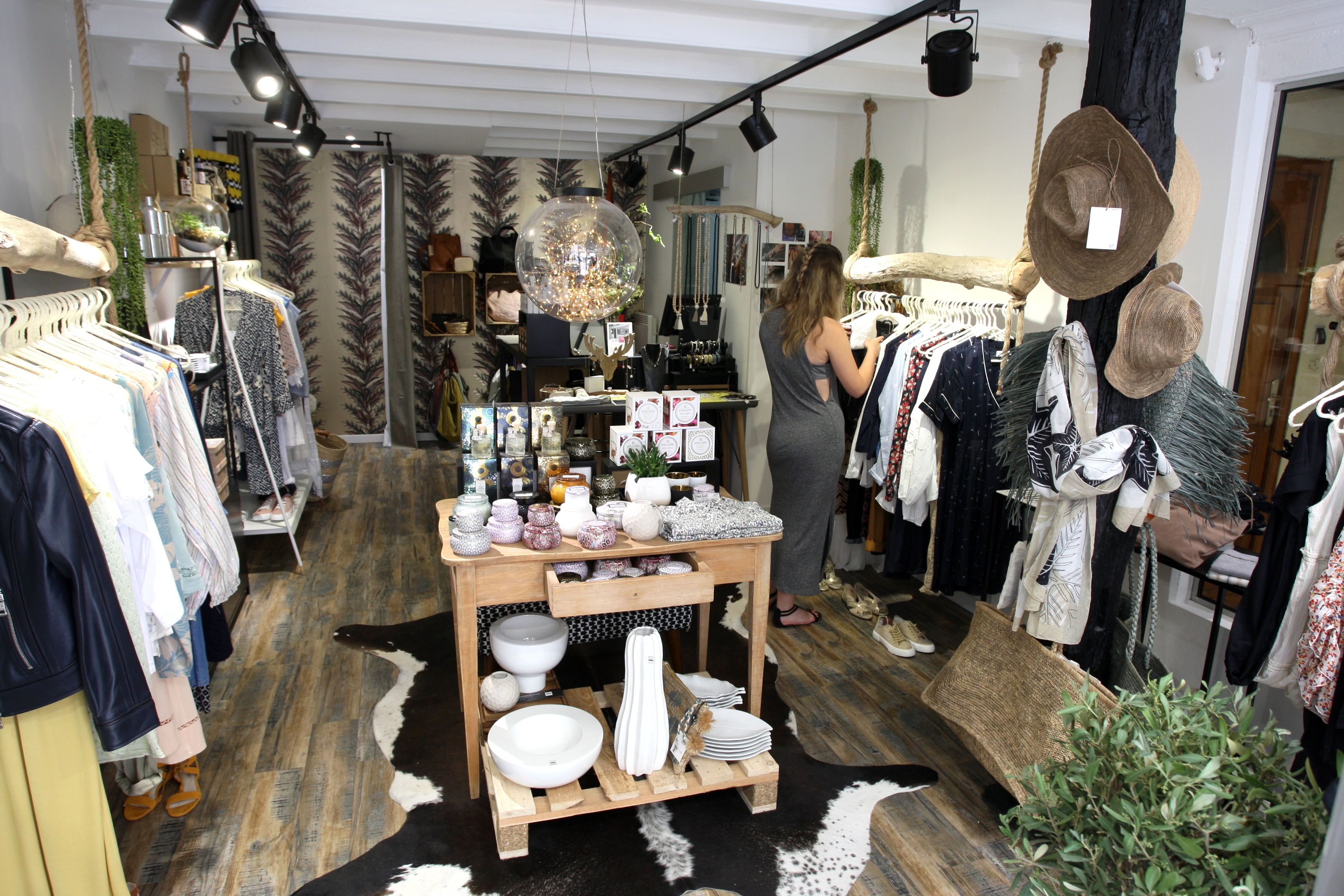 Plafonnier Salle De Bain Brico Depot ~ Shopping Le 5 Concept Store Le Boh Me Chic Du Pr T Porter Aux