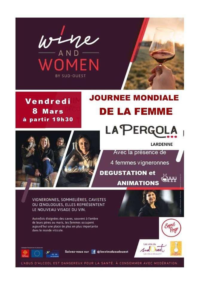 Evenement La Pergola Fete La Journee De La Femme Journal Diagonale
