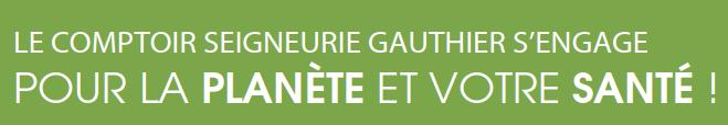 Peinture Le Comptoir Seigneurie Gauthier S Engage Pour La Planete Et Votre Sante Journal Diagonale