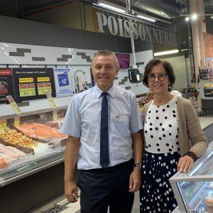[UN AIR DE FAMILLE] Pascale et Dominique Bonnel – Carrefour Market à L'Isle-Jourdain