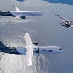 [Aviation] Au travers de 3 concepts d'avions, Airbus vise le zéro émissions d'ici 2035