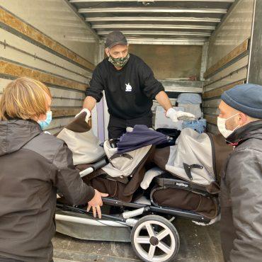 [Solidarité] Colomiers : la Ville fait don de matériel de puériculture.